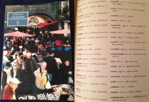 写真3 カターニャ語ーイタリア語辞書