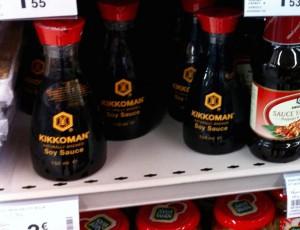 写真6:たくさん売られていた醤油・・・