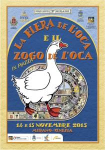 写真3:Fiare de l'oca e Zogo de l'oca(ガチョウ祭りとガチョウゲーム)