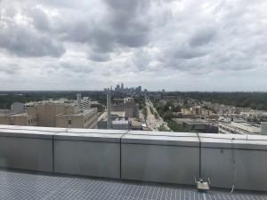 屋上から見えるダウンタウン